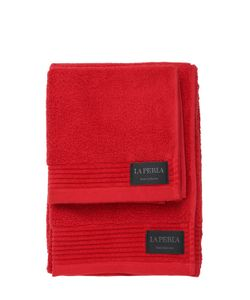 La Perla | Nervures Set Of 2 Towels