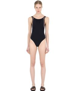 LA PERLA BEACHWEAR | Cool Draped Lycra One Piece Swimsuit