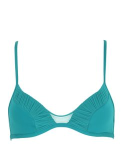LA PERLA BEACHWEAR | Cool Ruched Triangle Lycra Bikini Top