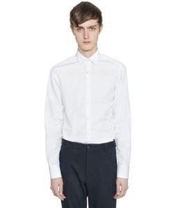 Lanvin | Slim Fit Cotton Poplin Shirt