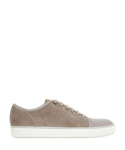 Lanvin | Suede Smooth Leather Sneakers