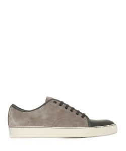 Lanvin | Patent Leather Suede Sneakers