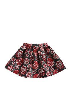 LANVIN PETITE | Cotton Lurex Brocade Round Skirt