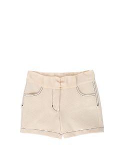 LANVIN PETITE | Cotton Piqué Shorts