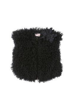 LANVIN PETITE | Faux Mongolian Fur Vest