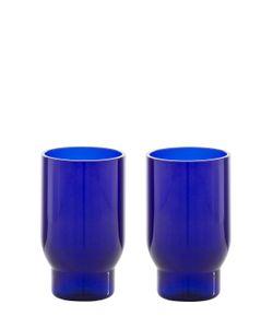 LANZAVECCHIA+WAI | Glasss Set Of 2 Hand Blown Glasses