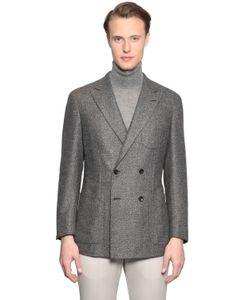 LARUSMIANI   Double Breasted Wool Jacket