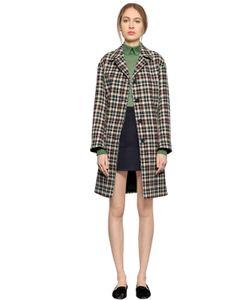LARUSMIANI | Checked Wool Coat