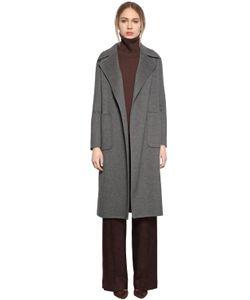 LARUSMIANI   Belted Double Wool Coat