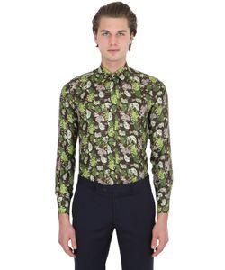 LARUSMIANI | Printed Silk Satin Shirt