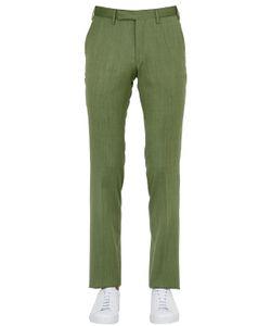 LARUSMIANI | 18.5cm Wool Silk Blend Pants