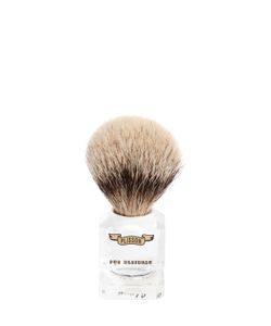 LARUSMIANI   Lorenzi Plexiglas Shaving Brush
