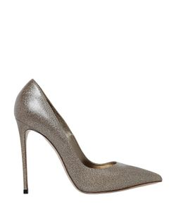 Le Silla | 110mm Glittered Leather Pumps