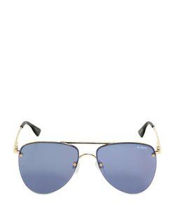 Le Specs   Mirrored Aviator Sunglasses