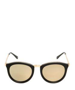 Le Specs   Mirrored Acetate Sunglasses