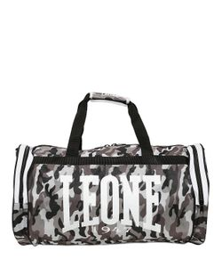 LEONE 1947 | Camouflage Nylon Gym Bag