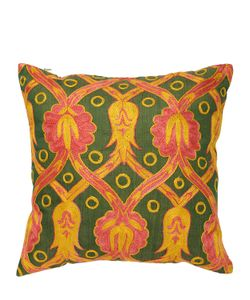LES OTTOMANS | Limit.Ed Suzani Luxury Pink Arabi Pillow