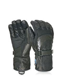 Level | Bomber Soft Leather Ski Gloves
