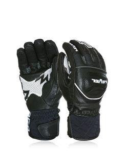 Level | Race Leather Ski Gloves