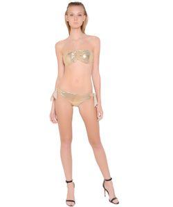 LILIANA CONTI MAGARÌA | Snake Effect Laminated Microfiber Bikini