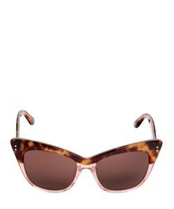 Linda Farrow | Erdem Tortoise Shell Glitter Sunglass