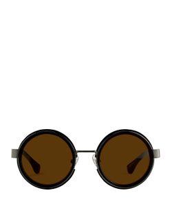 Linda Farrow | Dries Van Noten Round Sunglasses
