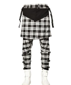 LONG CLOTHING | Long X Orphanage Tartan Clip Trousers