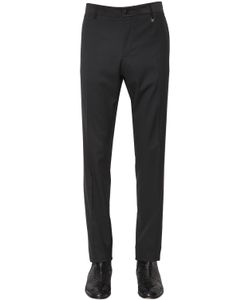 LORDS & FOOLS | 17cm Wool Serge Tuxedo Pants