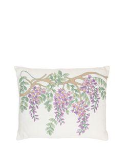 LORETTA CAPONI   Wisteria Pillow