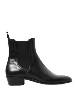 Louis Leeman | 40mm Leather Chelsea Ankle Boots