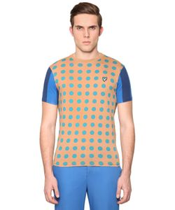LYLE&SCOTT FOR JONATHAN SAUNDERS | Polka Dot Printed Cotton T-Shirt