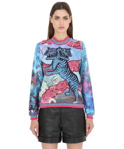 Maid In Love | Kerry Embellished Jersey Sweatshirt