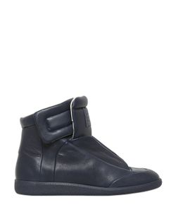 Maison Margiela | Future Soft Leather High Top Sneakers