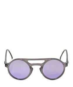 MAKI | Lemure Round Frame Mirror Sunglasses