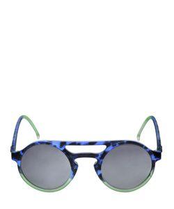 MAKI | Lemure Gradient Round Frame Sunglasses