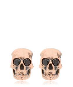 MANUEL BOZZI   Luxury Skull Earrings