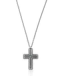 MANUEL BOZZI   Cross Necklace