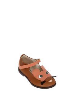 MANUELA DE JUAN | Mouse Patent Leather Ballerina Flats