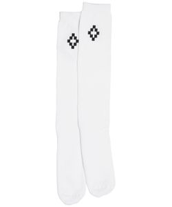 MARCELO BURLON COUNTY OF MILAN | Logo Printed Long Socks