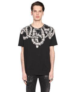MARCELO BURLON COUNTY OF MILAN   Aconcagua Printed Cotton Jersey T-Shirt