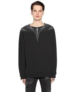 MARCELO BURLON COUNTY OF MILAN | Antofalla Printed Cotton Sweatshirt