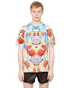 MARCELO BURLON COUNTY OF MILAN   Cotton Jersey Exotic Fish T-Shirt