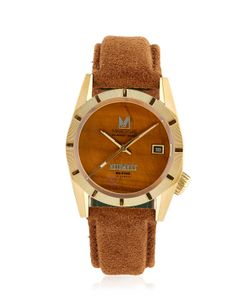 MARCH LA.B | Tigers Eye Suede Automatic Watch