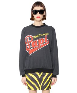 MARIA ESCOTÉ | Papi Printed Heavy Cotton Sweatshirt