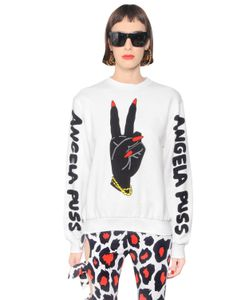 MARIA ESCOTÉ | Peace Printed Heavy Cotton Sweatshirt