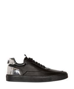 MARIANO DI VAIO | Mercury Leather W/Mirror Effect Sneakers