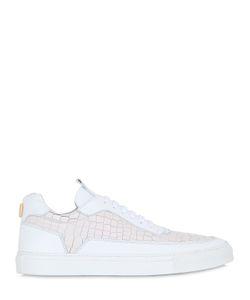 MARIANO DI VAIO | Mercury 774 Embossed Leather Sneakers
