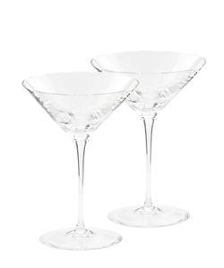 MARIO CIONI | Set Of 2 Crystal Martini Glasses