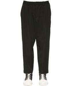 Marni | Carrot Fit Wool Twill Pants