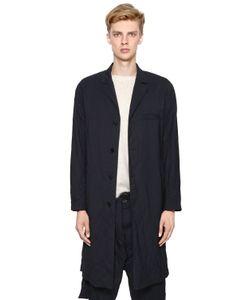 Marni | Wrinkled Light Wool Gabardine Overcoat